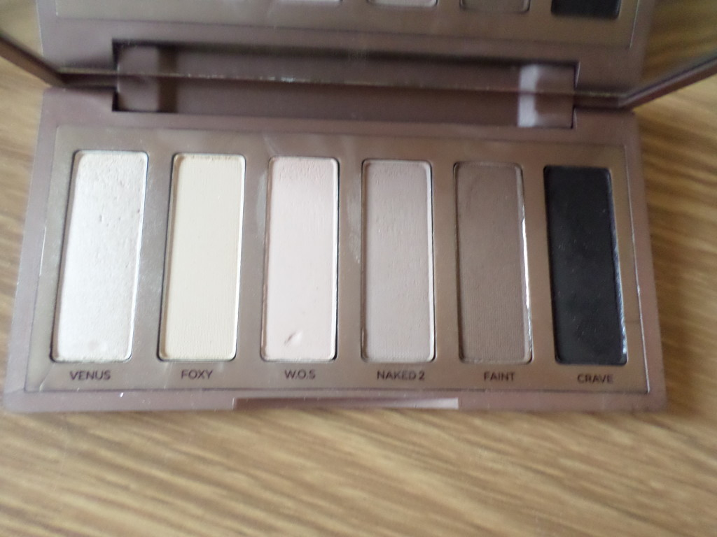 Urban Decay Naked Palette Basics