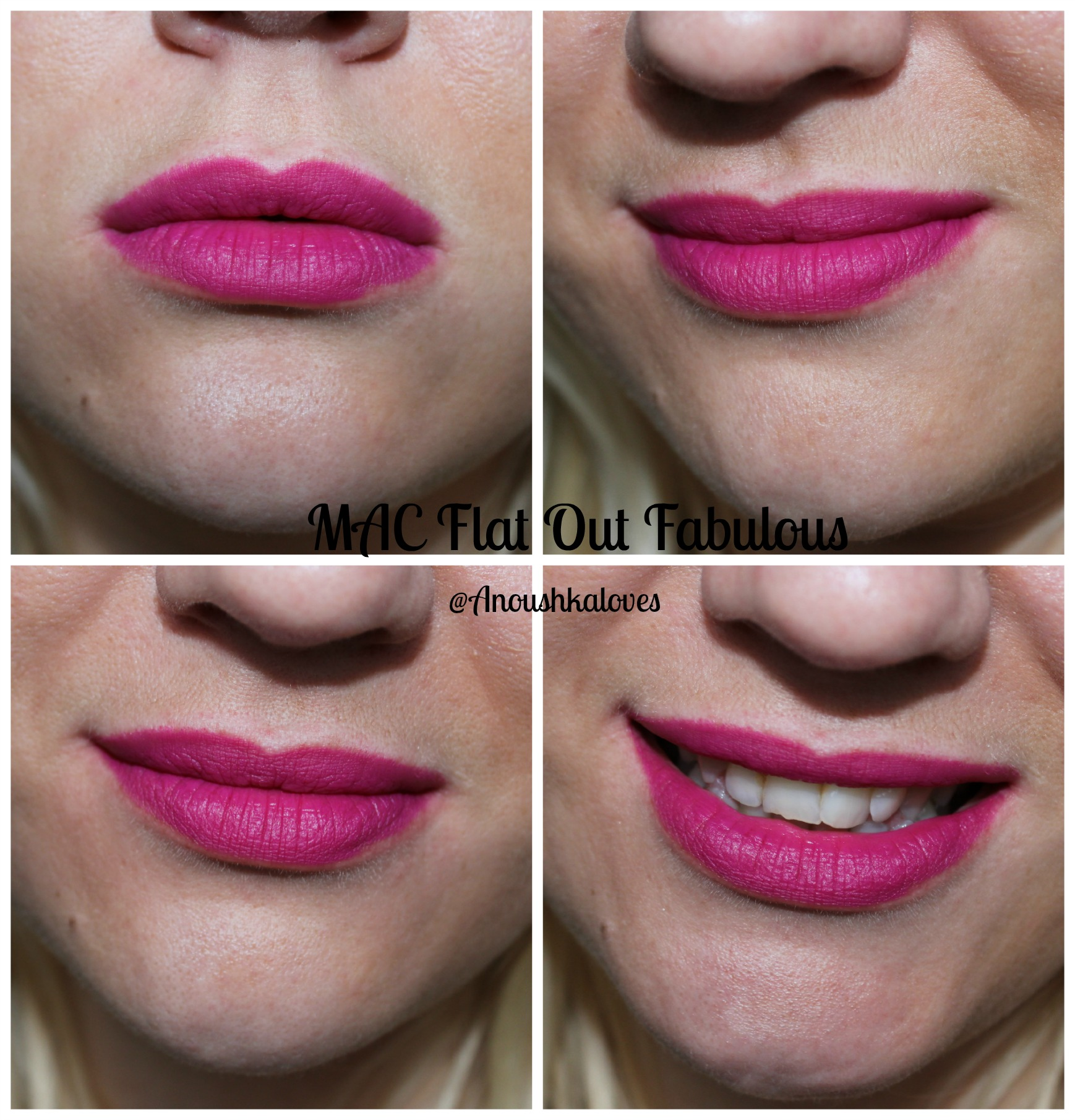 Top 28 Days of Lipstick: Day Fifteen | MAC Flat Out Fabulous  GG07