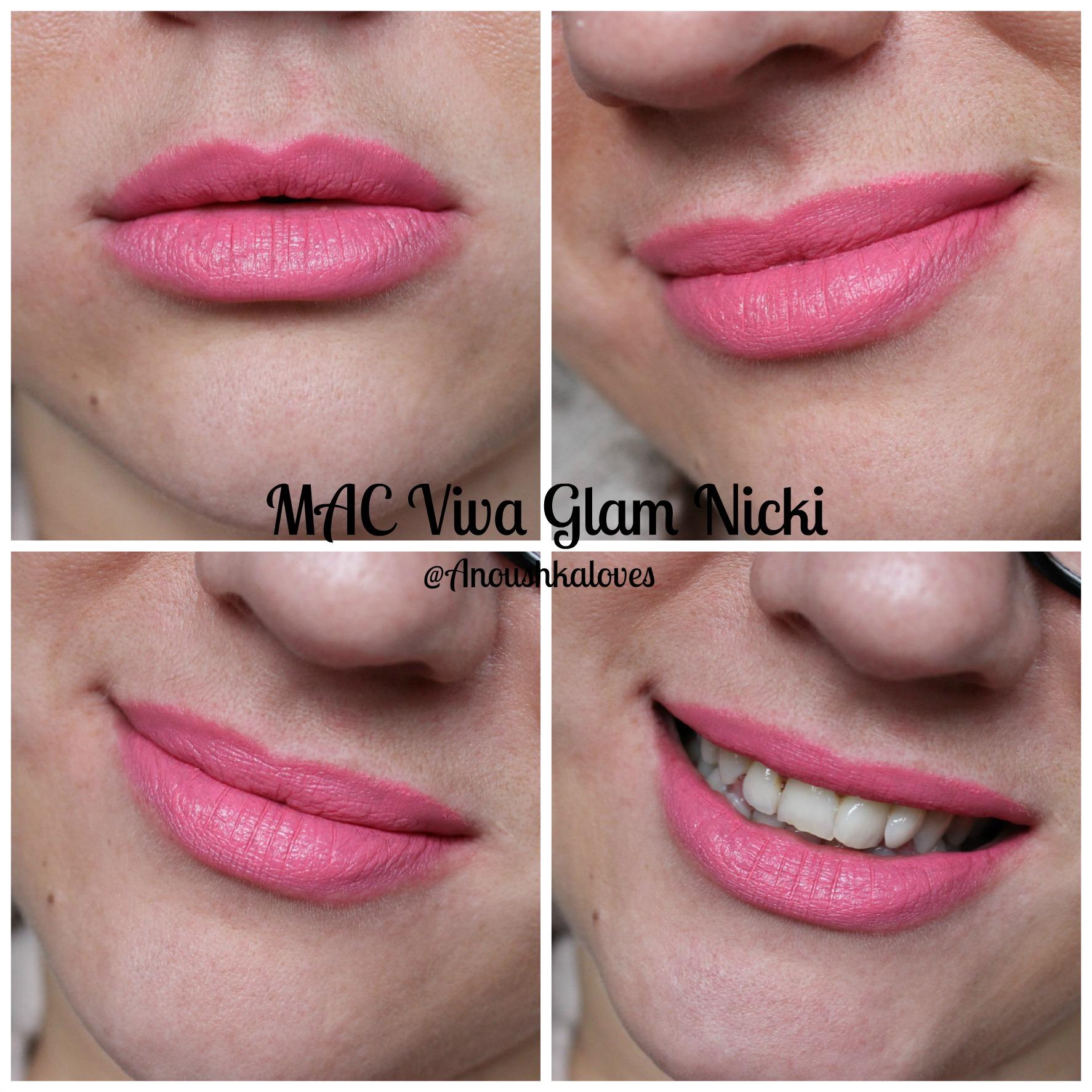 Mac Viva Glam Nicki Review Archives Anoushka Loves Lipstick