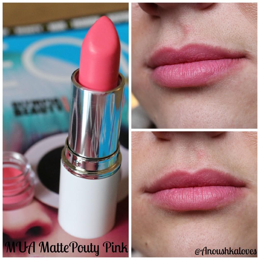 MUA Matte Pouty Pink