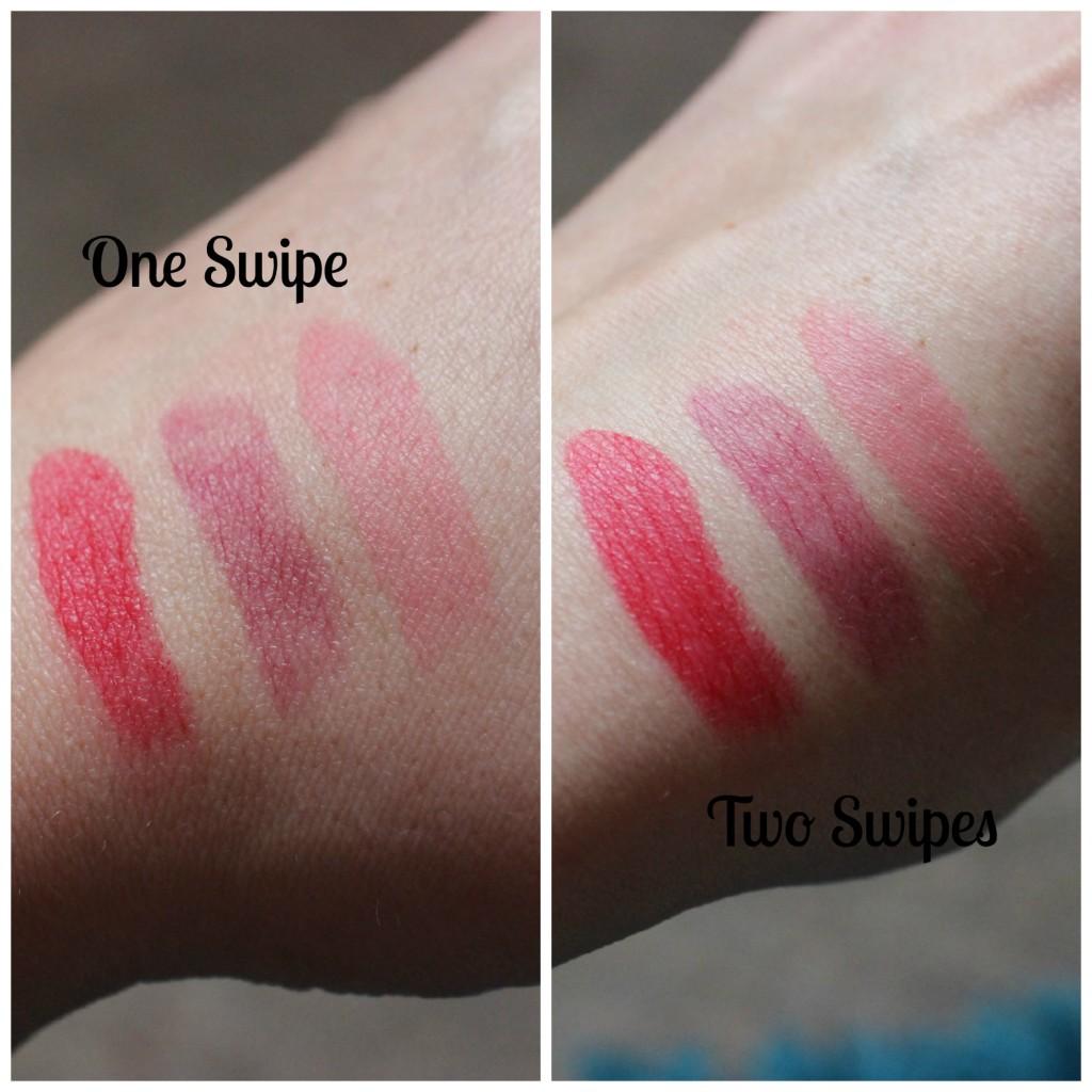 MUA Matte lipsticks