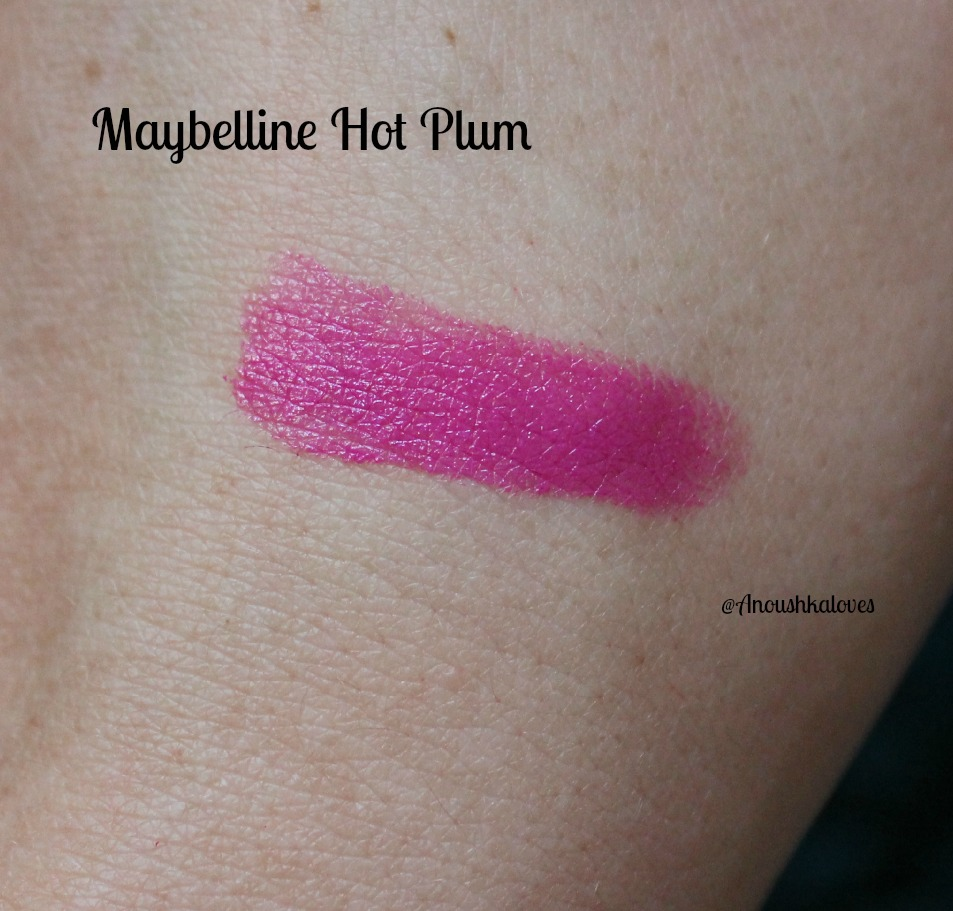 Maybelline Hot Plum