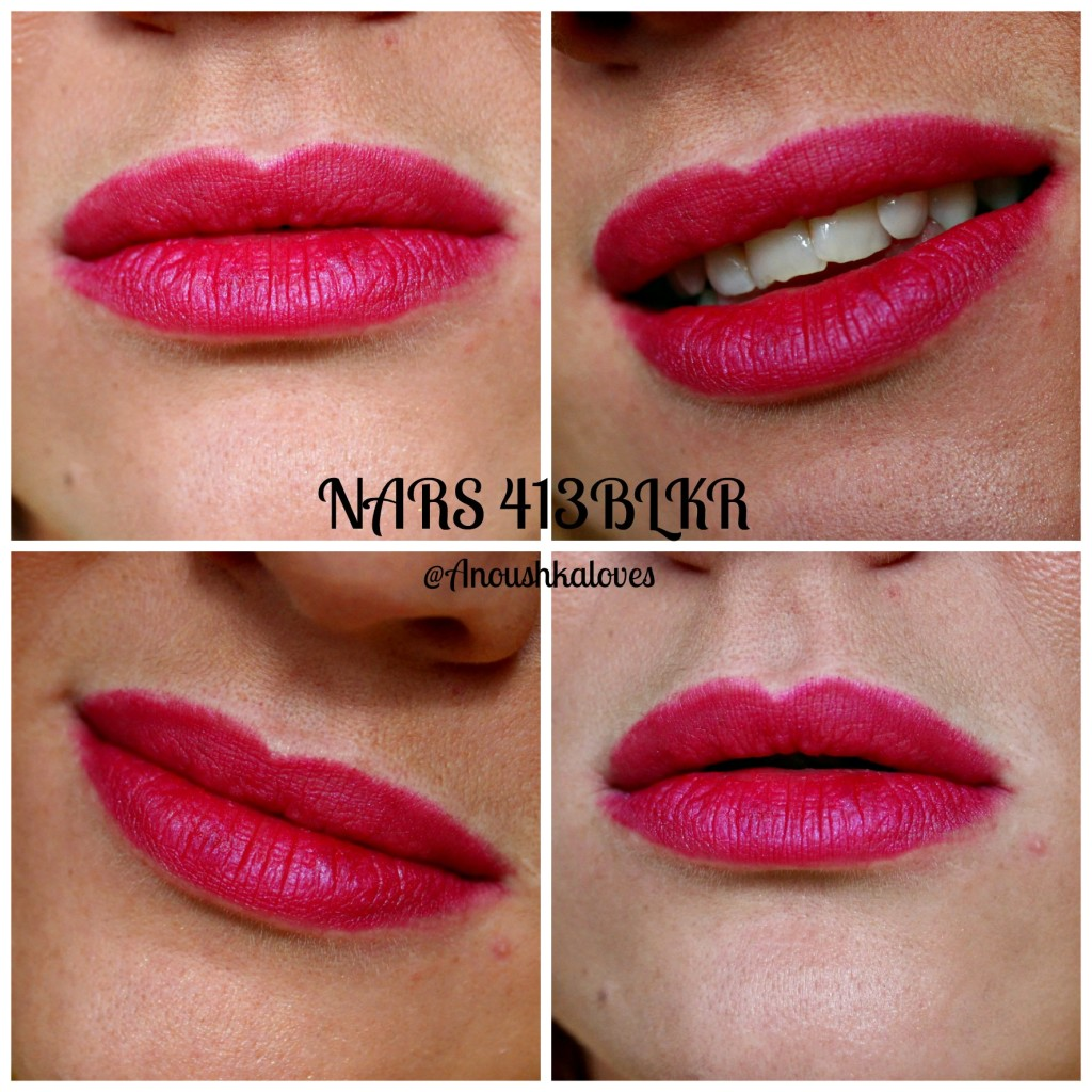 NARS 413 BLKR velvet matte lip pencil