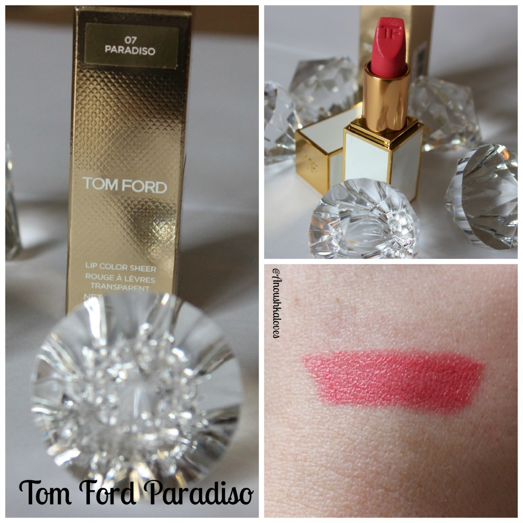 Tom Ford Paradiso Lip Colour Sheer