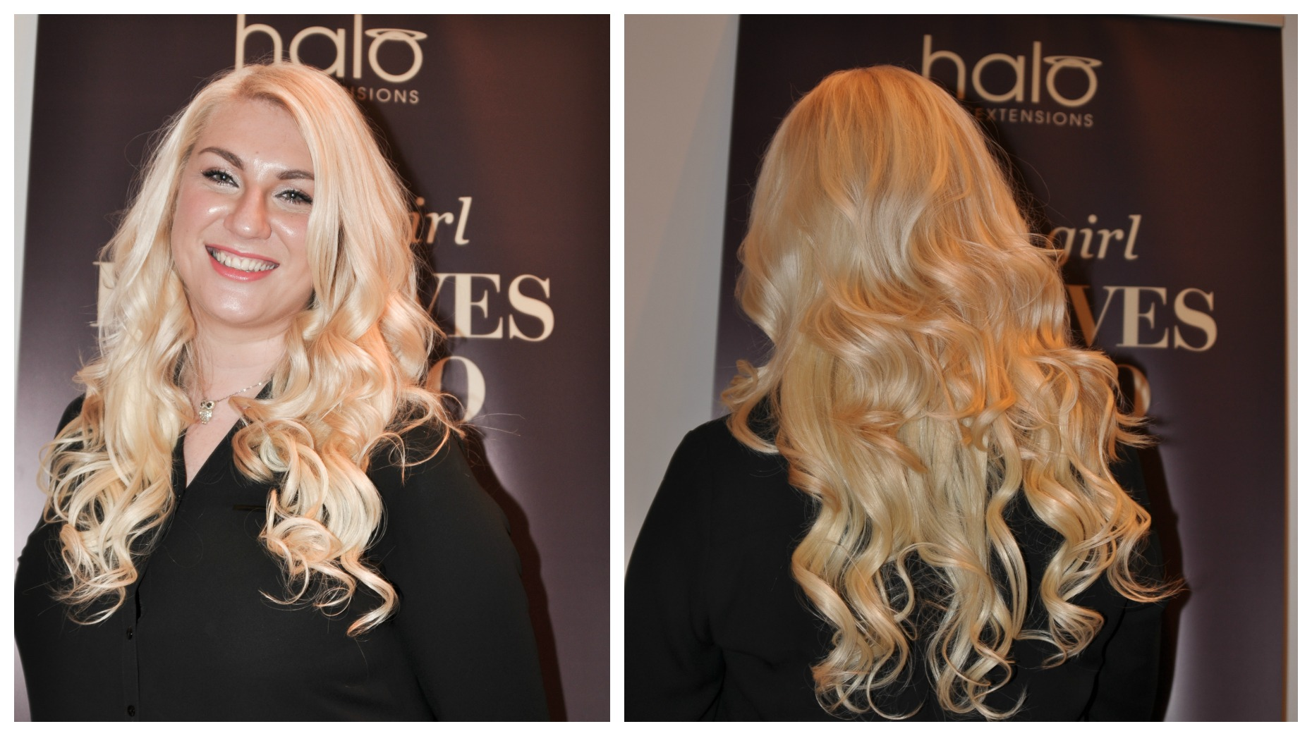 Halo Hair Extensions Event Anoushka Loves
