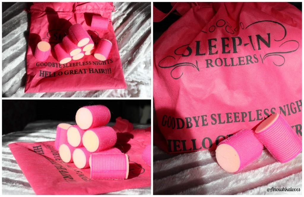 Sleep Rollers Velco Rollers