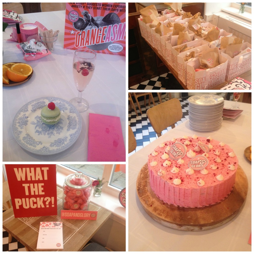 Soap and Glory Manchester press event