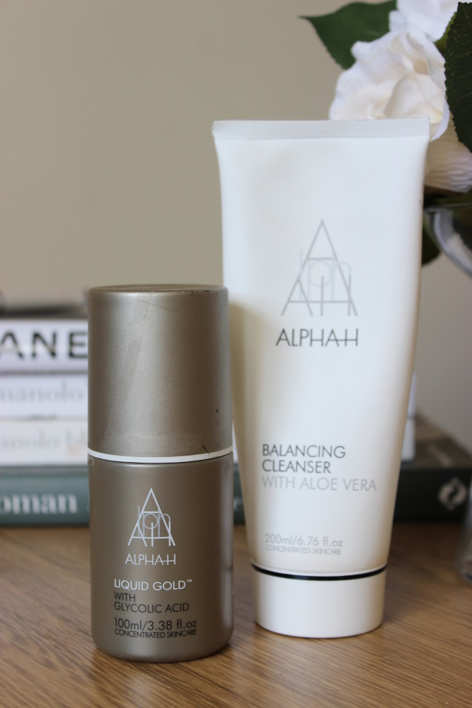 Alpha H Balancing Cleanser and Liquid Gold