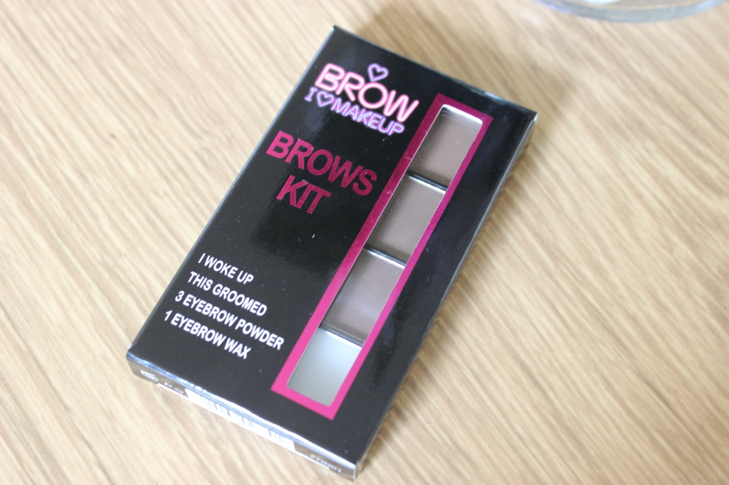 I Heart Makeup Brow Kit I Woke Up This Groomed