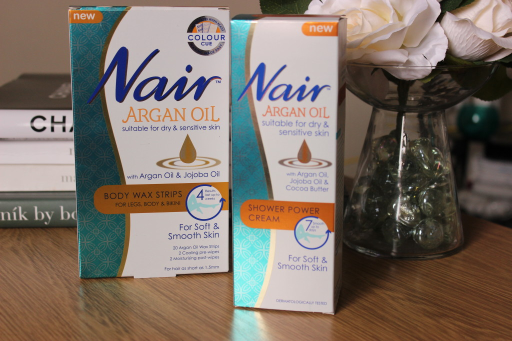 Nair Argan Oil Hair Removal