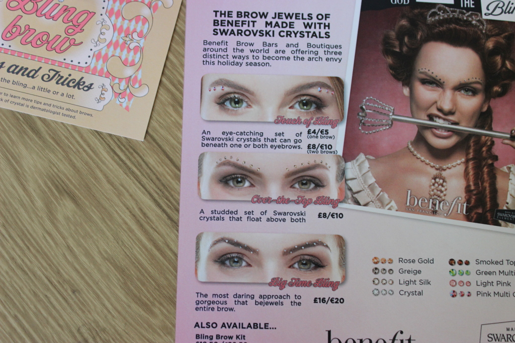 Bling Brows By Benefit