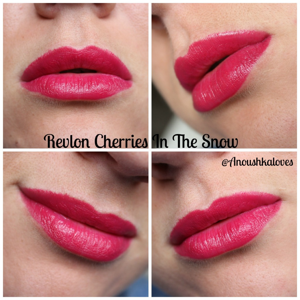 Revlon Cherries In The Snow Lipstick (8)