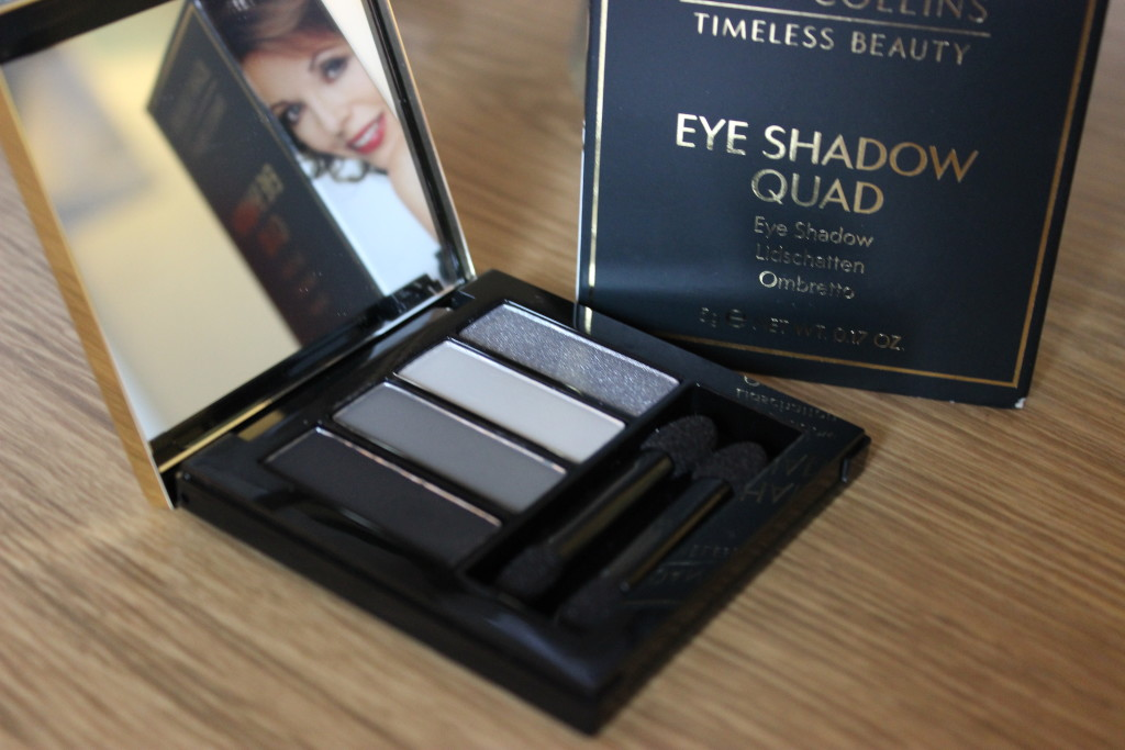 Joan Collins Timeless Beauty Eyeshadow Quad Misty Blacks