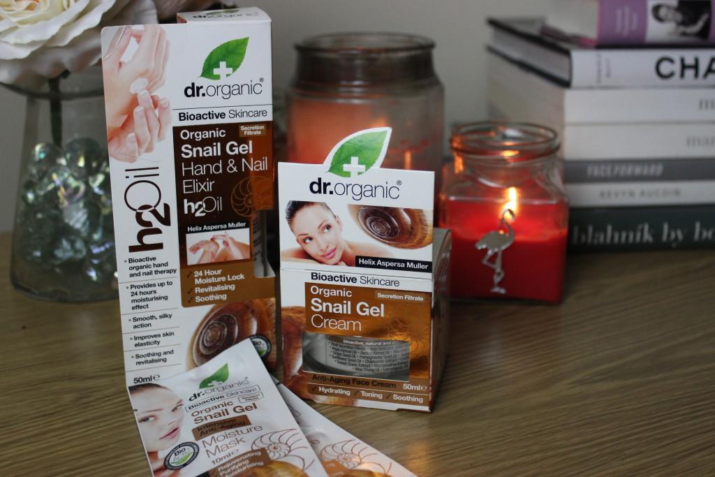 Dr Organic Snail Gel Skincare