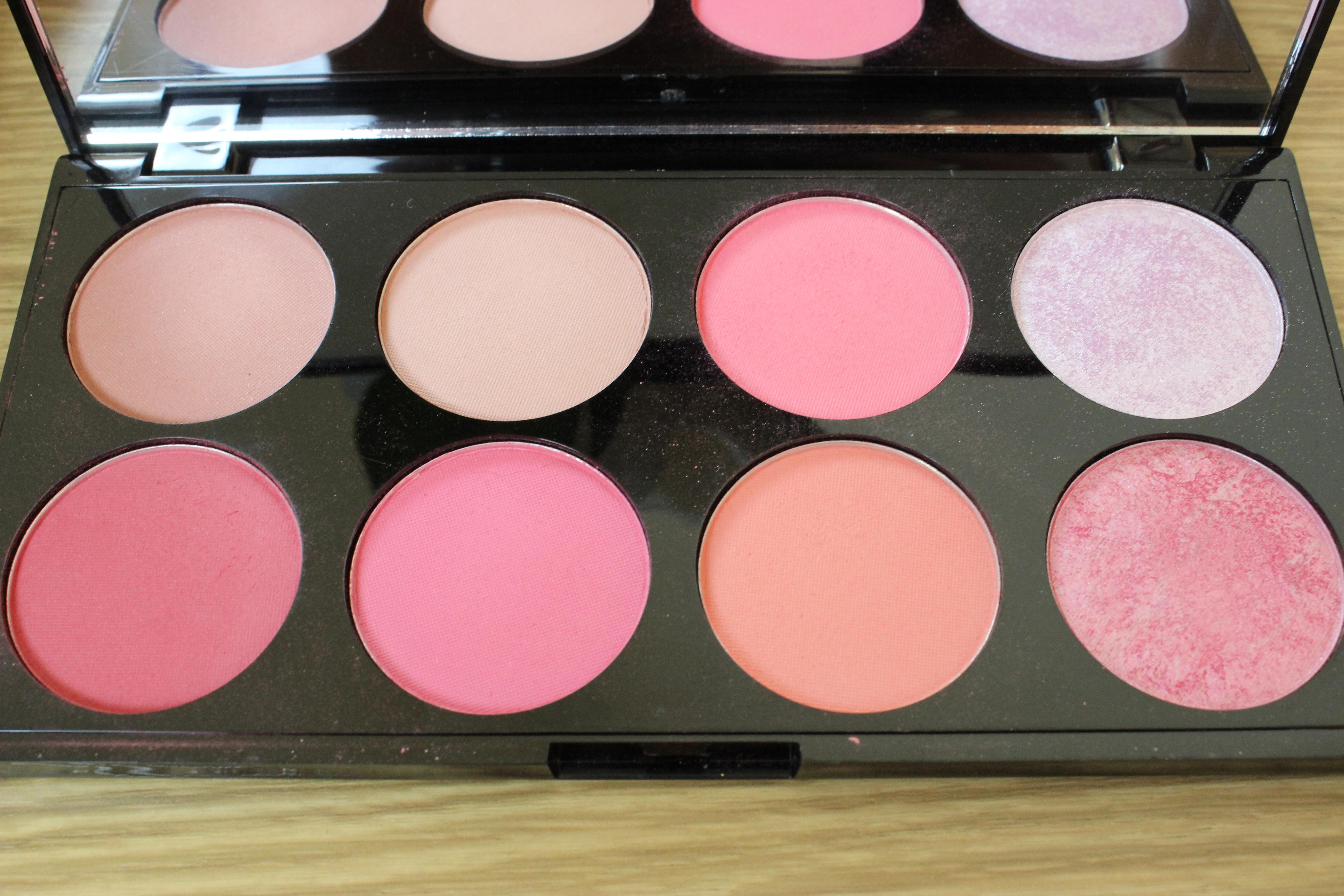 makeup revolution ultra blush and contour palette sugar. Black Bedroom Furniture Sets. Home Design Ideas