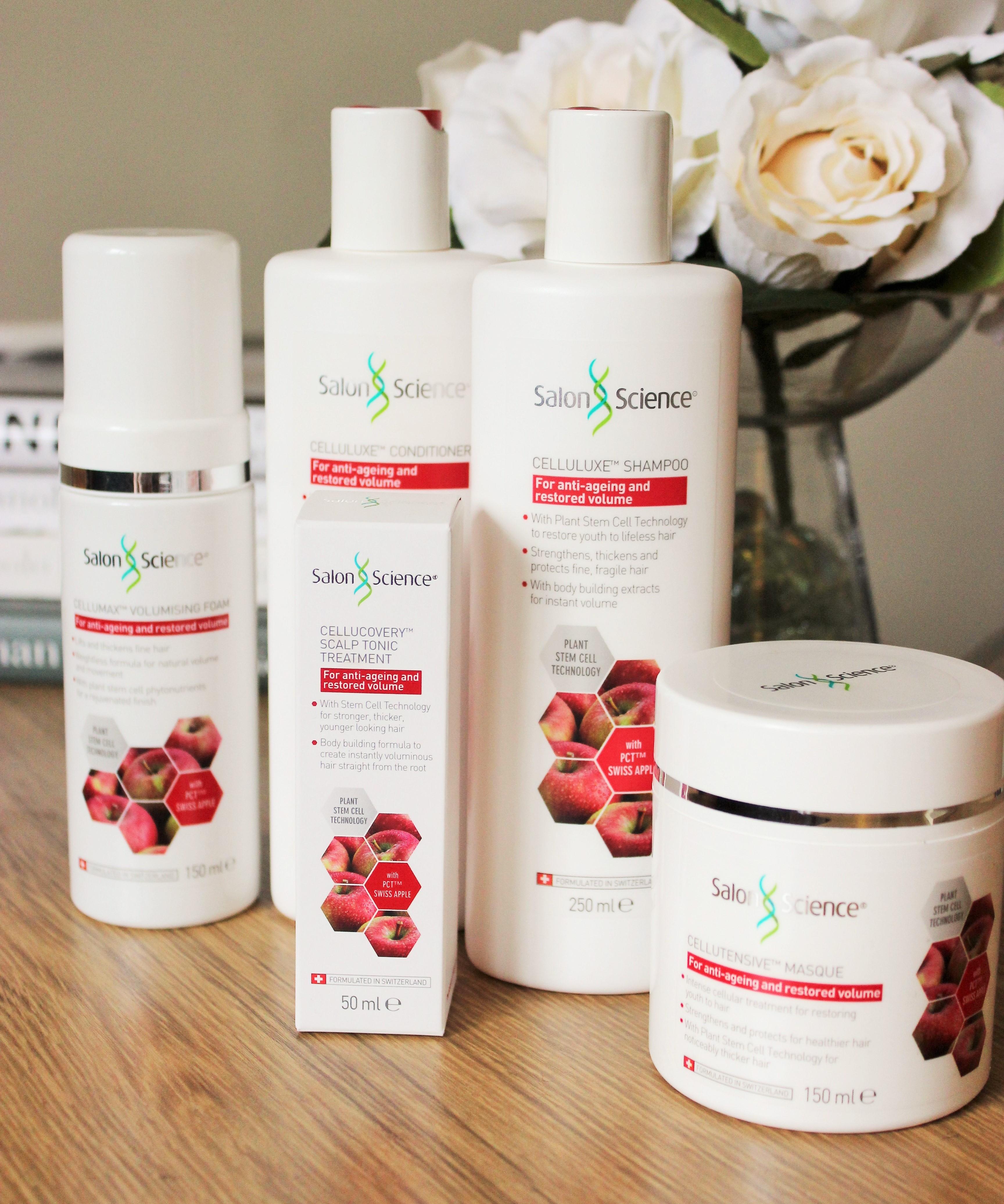 salon science apple swiss hair haircare beauty care