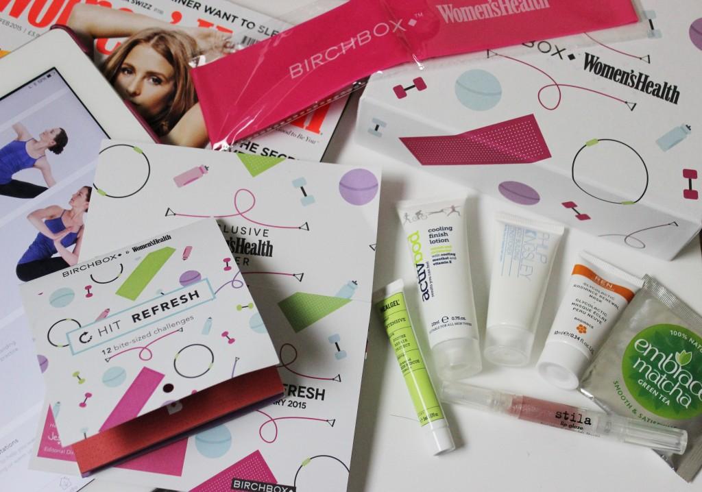 The January Birchbox - Women's Health
