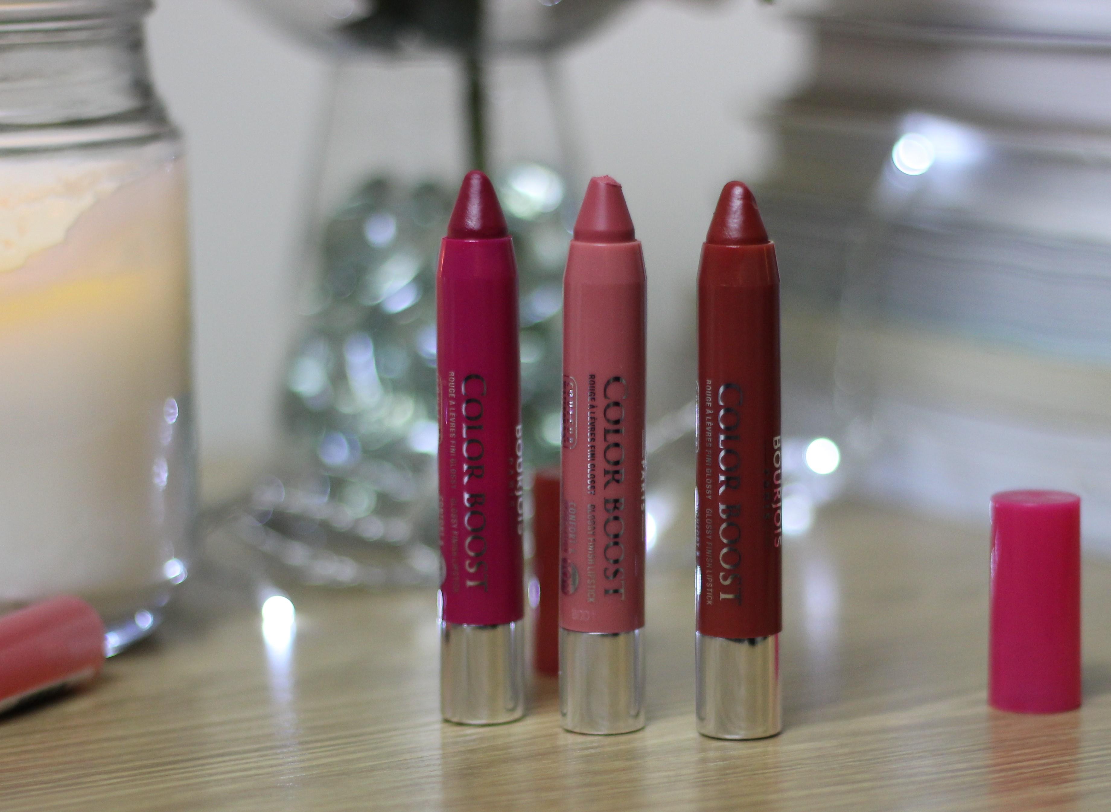 bourjois colorboost lip crayons - Bourjois Color Boost
