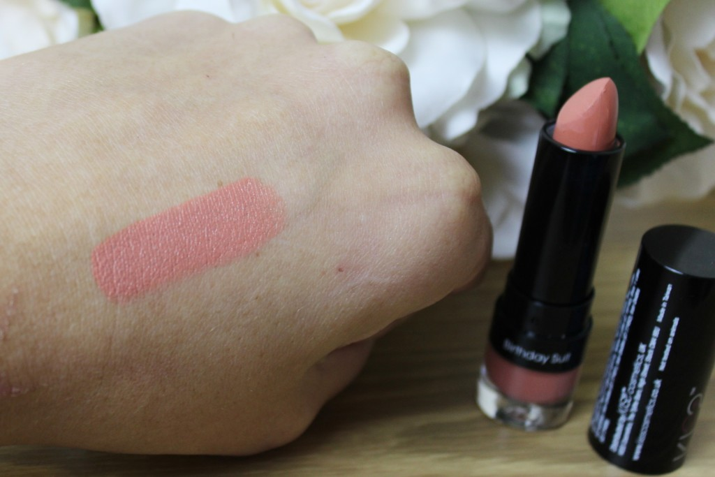 Kiss Cosmetics Lipstick in Birthday Suit