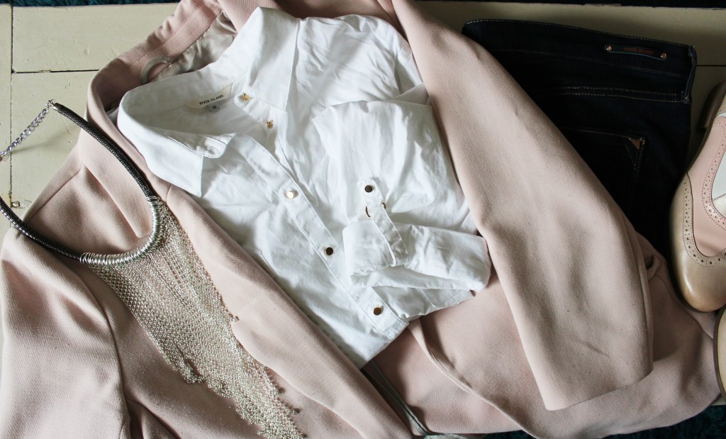 Nude Tones with Clarks Shoes