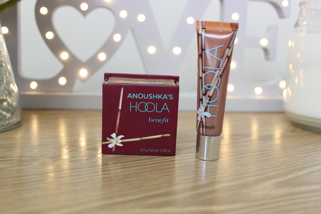 Benefit Hoola Bronzer and Lipgloss