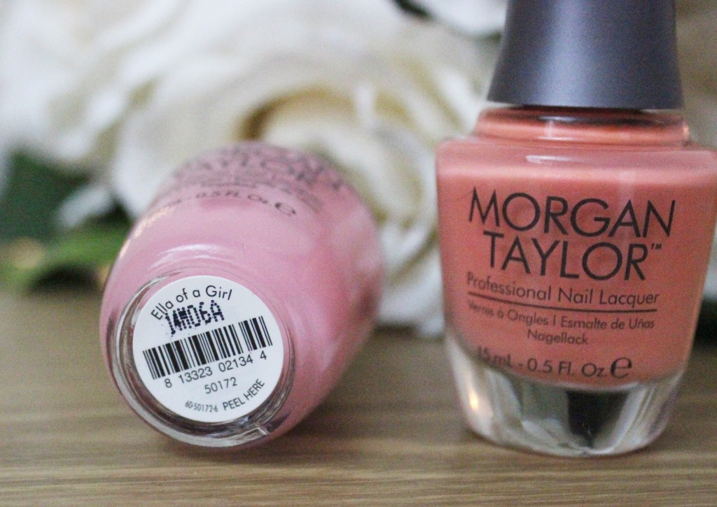 Morgan Taylor Cinderella nail varnish Ella Of A Girl