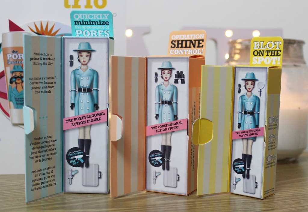 The Benefit POREfect Trio - License To Blot, Agent Zero Shine and The POREfessional