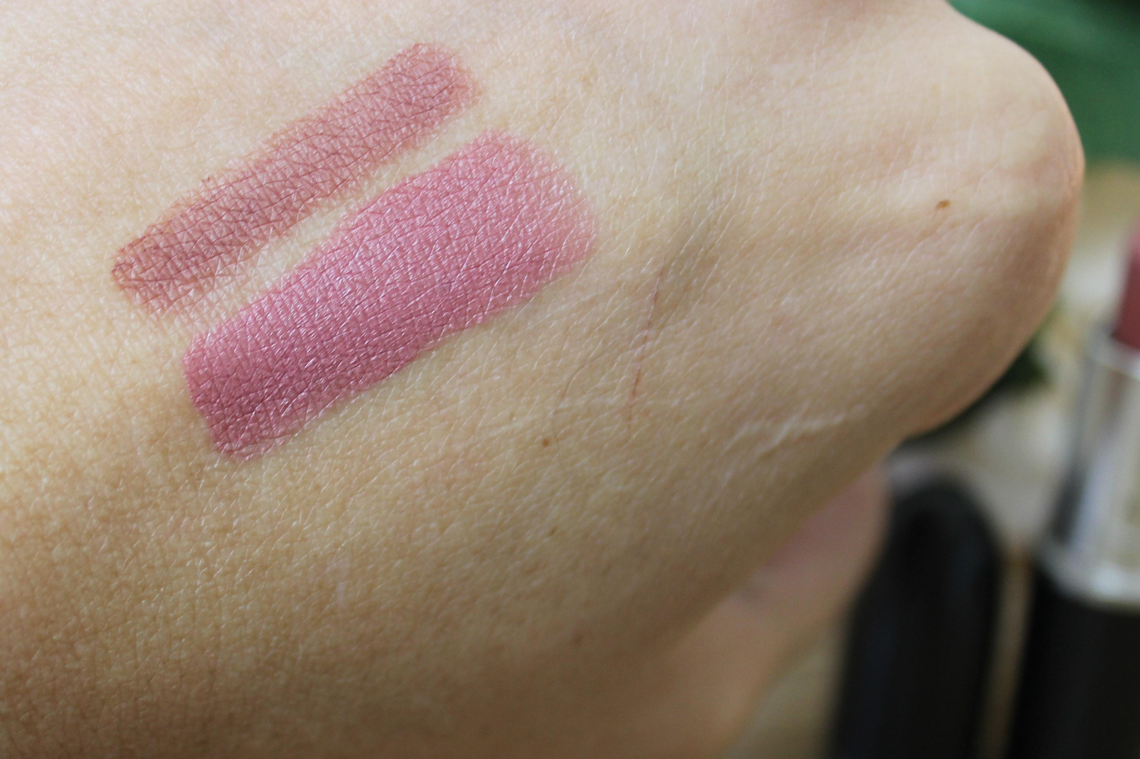 mac soar vs whirl lip liner