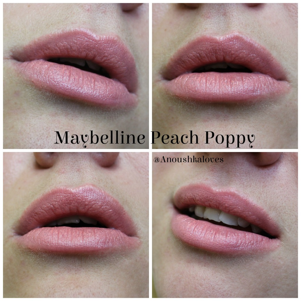 Maybelline 100 Years - Peach Poppy Lipstick and The Colossal Mascara (21)