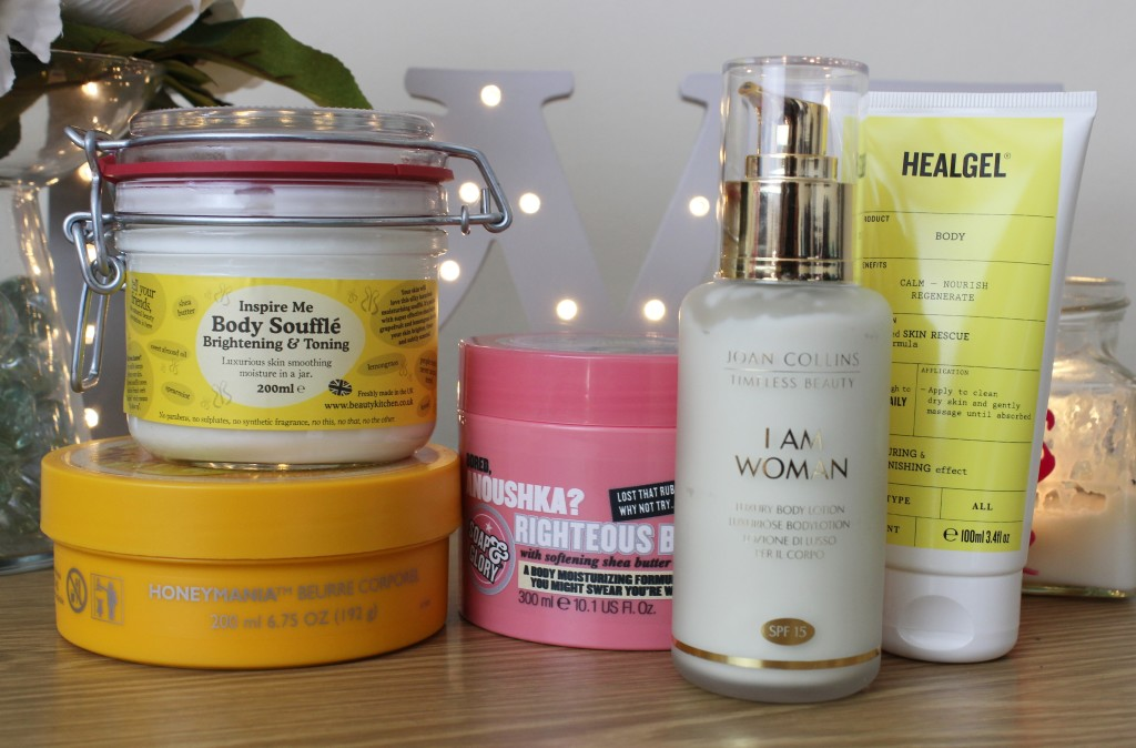 Body Creams, Lotions and Butters