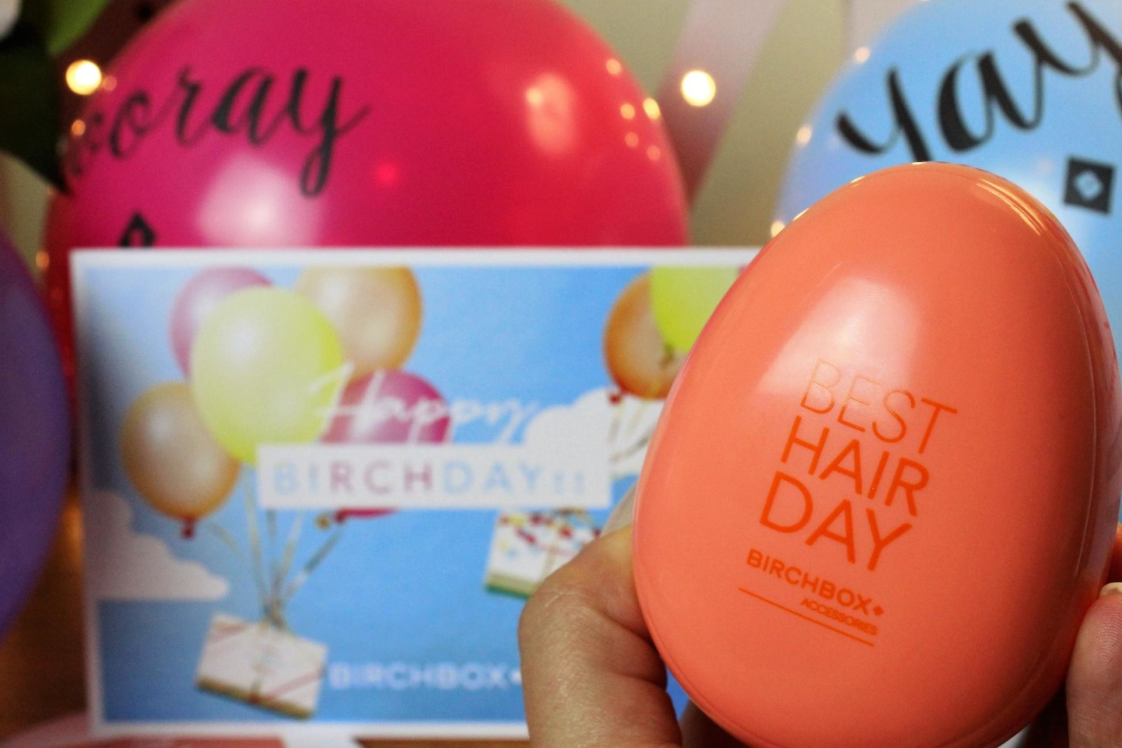 Happy Birthday Birchbox! September 2015