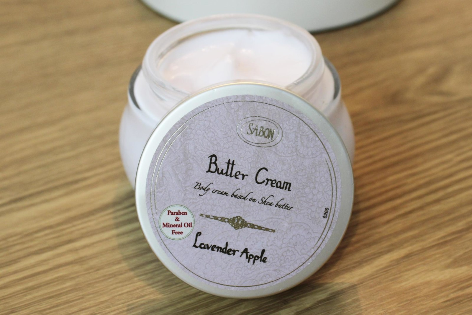 Sabon body butter Lavender apple