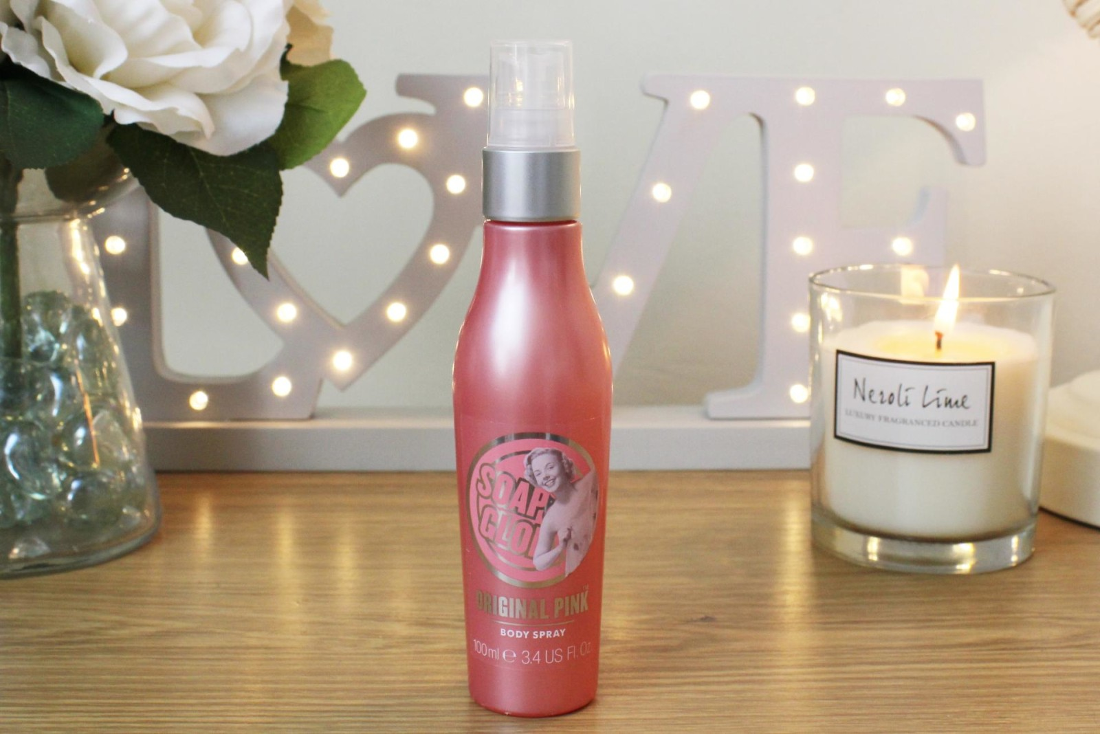 Soap and Glory Body Sprays Original Pink