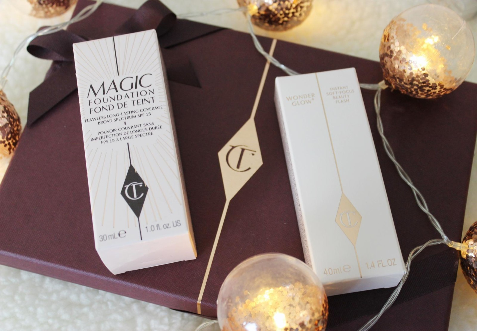 Charlotte Tilbury Wonder Glow & Magic Foundation