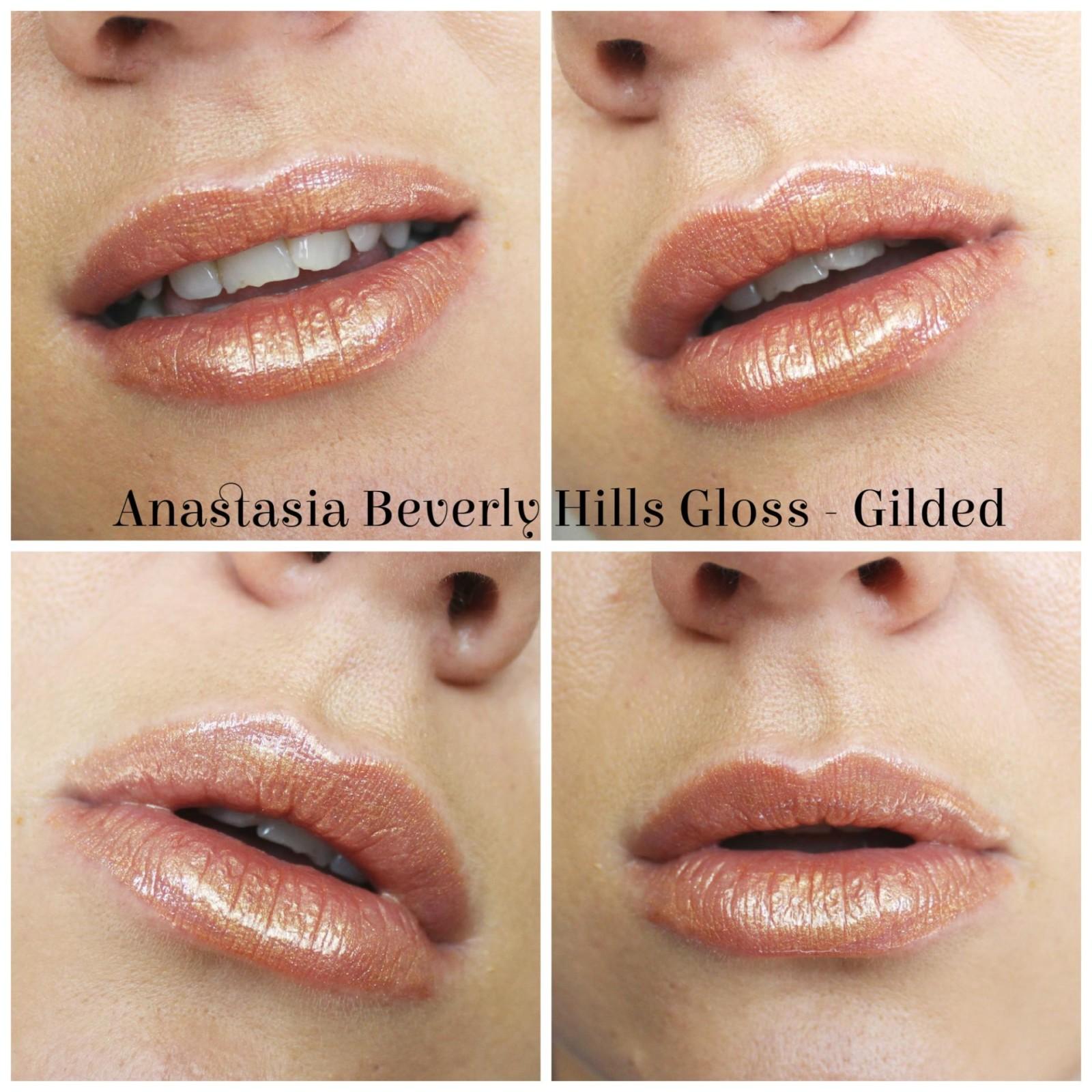 Anastasia Beverly Hills Lustrous Lip Gloss Set Gilded