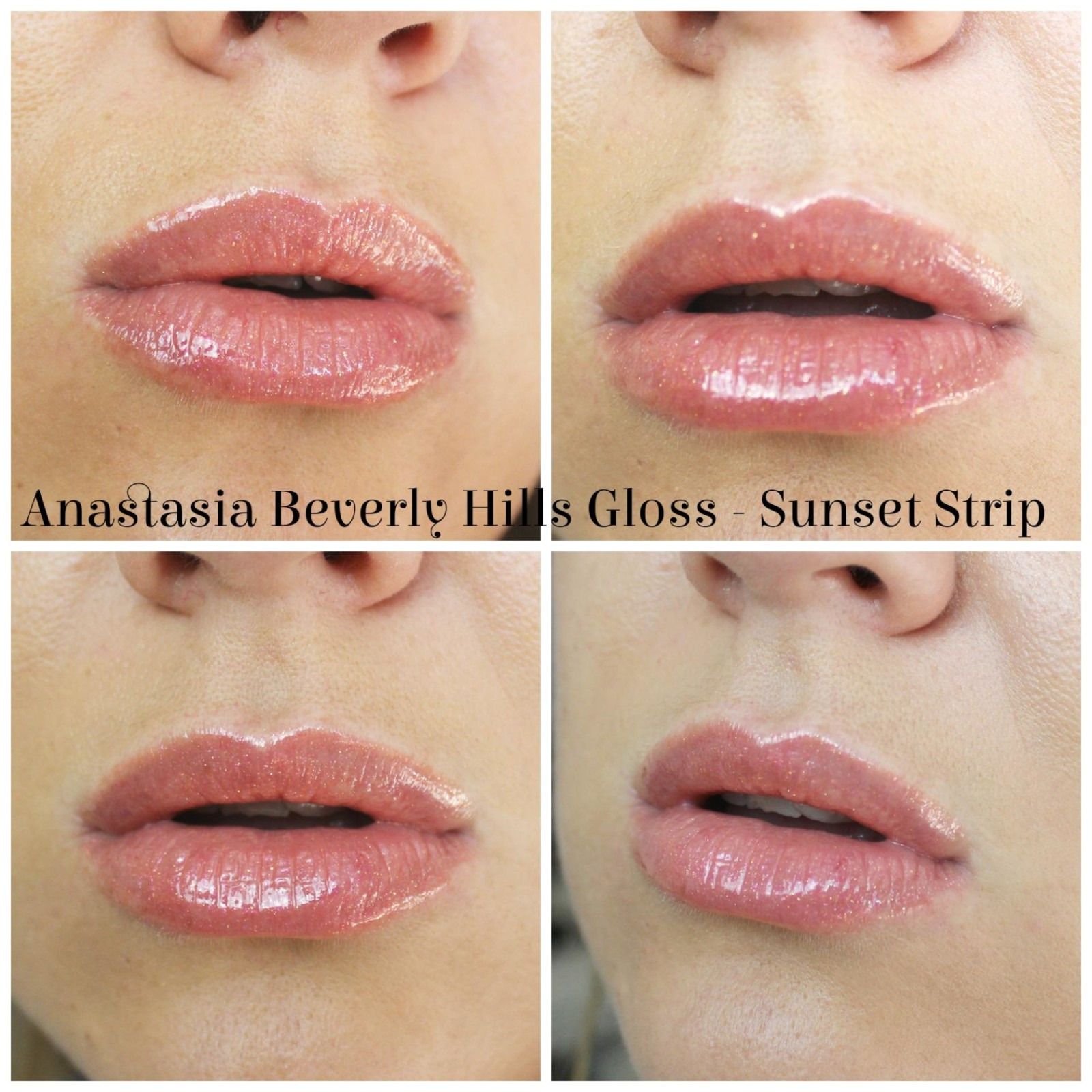 Anastasia Beverly Hills Lustrous Lip Gloss Set Sunset Strip