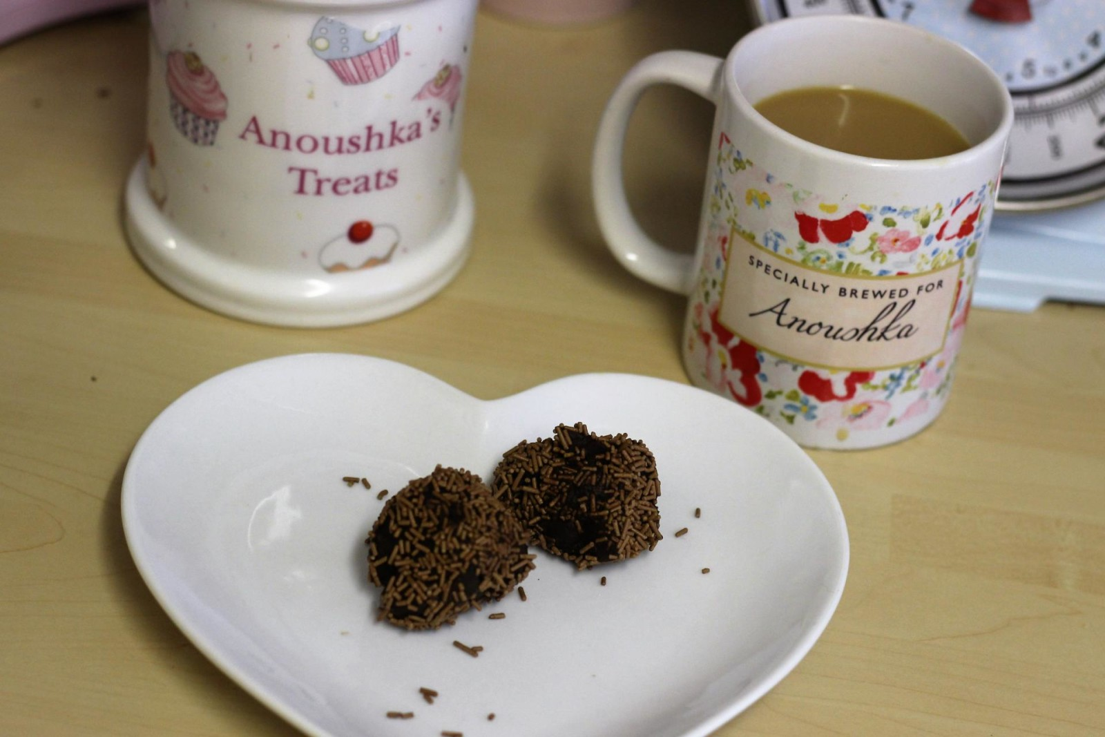Anoushka's Treats - Rum Truffles Recipe