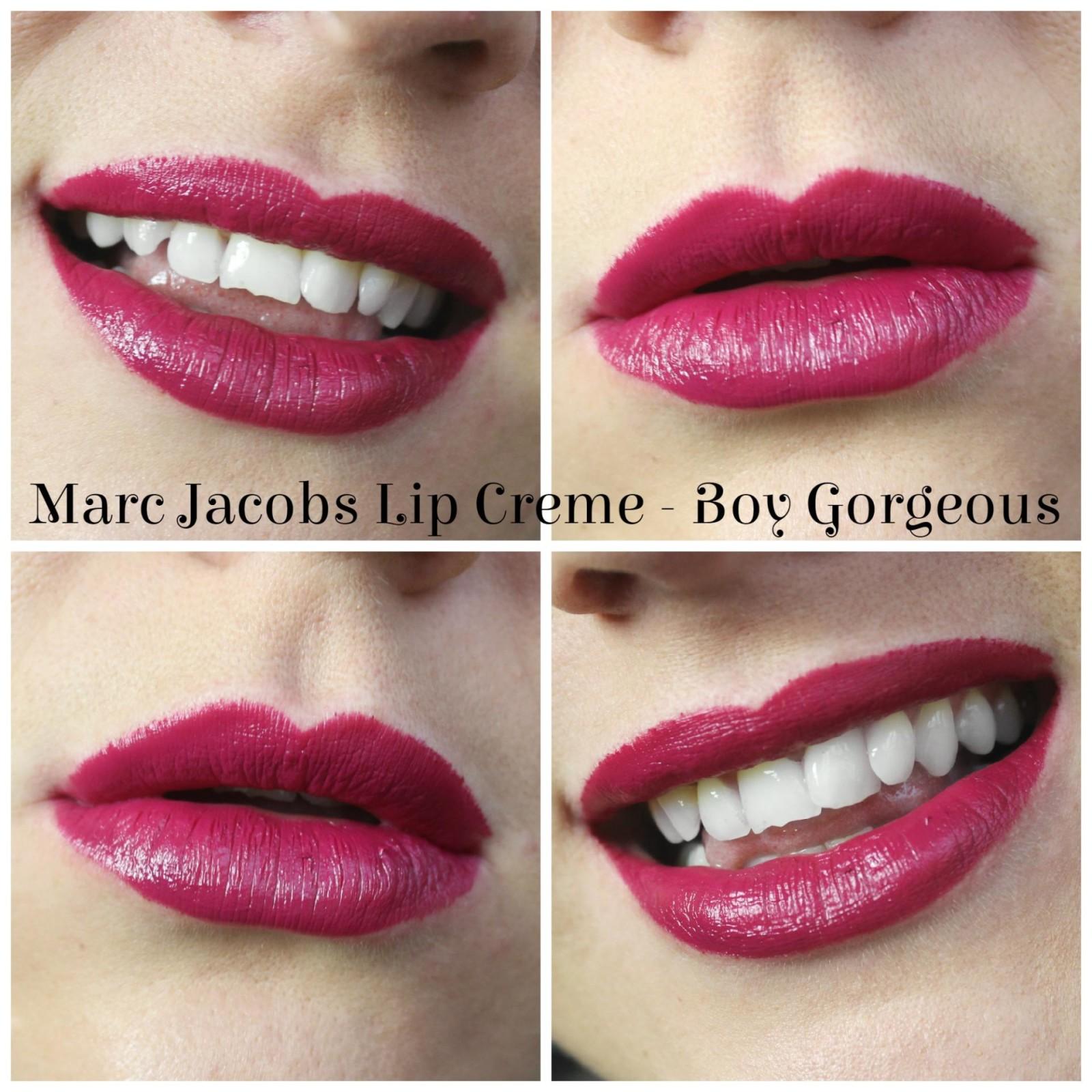 Marc Jacobs The Sofia Lip Set Boy Gorgeous