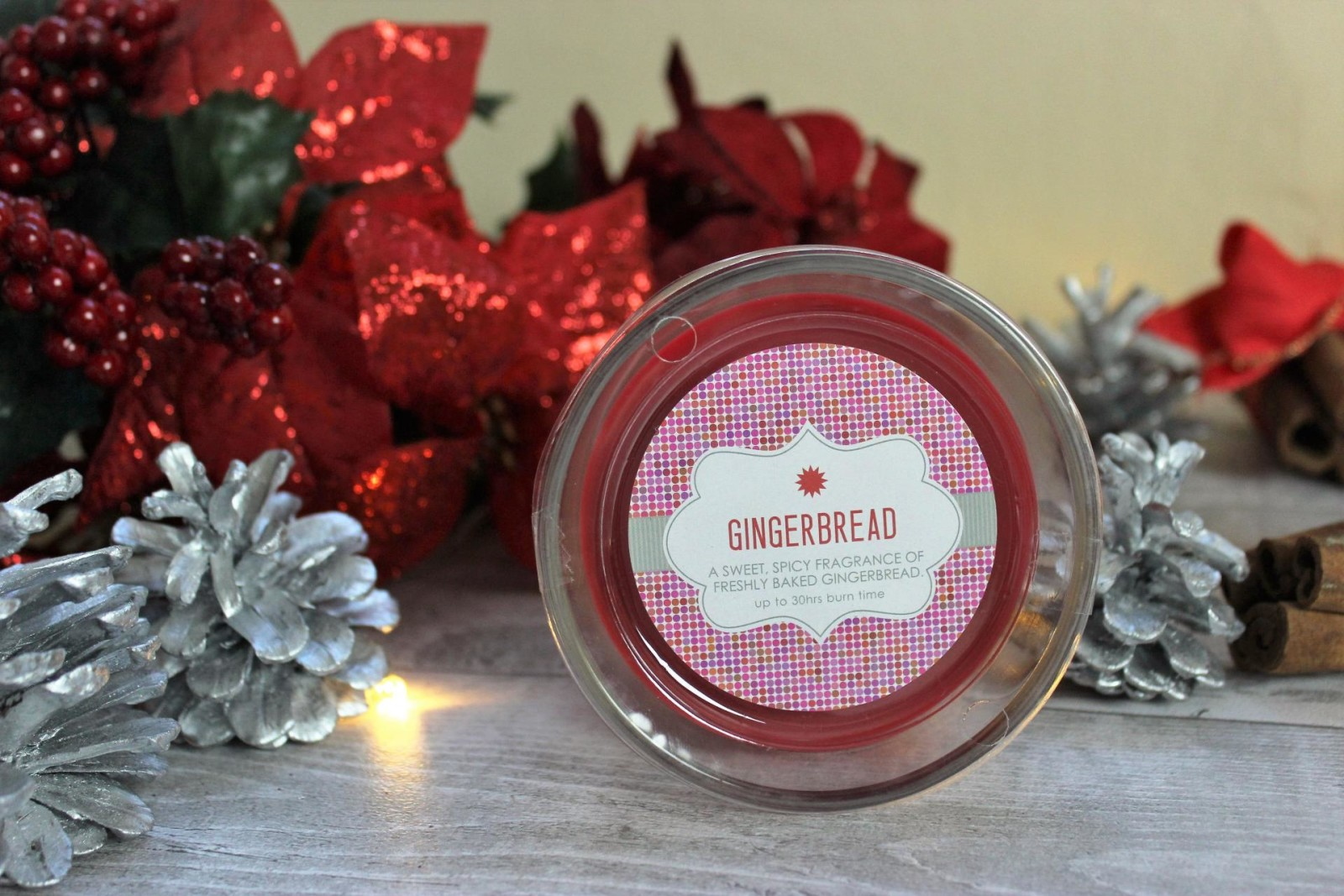 Dunelm Gingerbread Candle