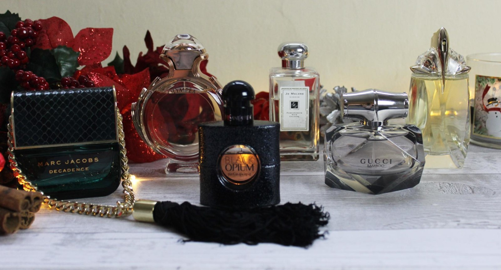 Favourite Fragrances for Christmas