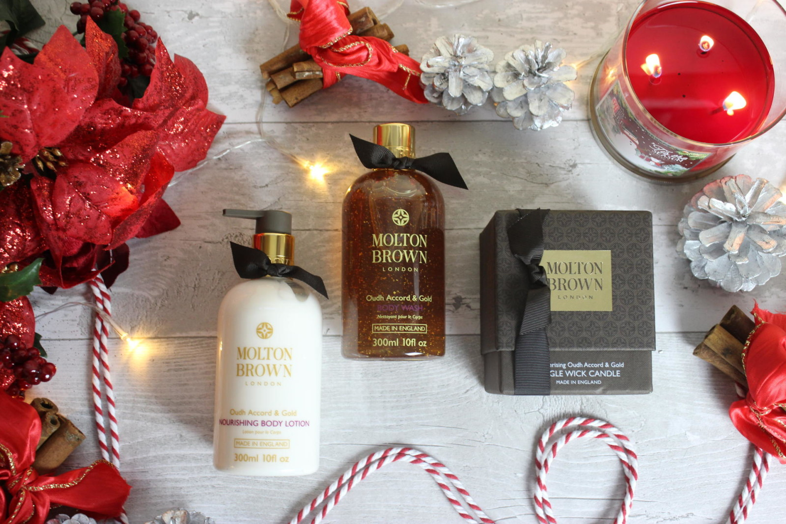 Molton Brown Oudh Accord and Gold