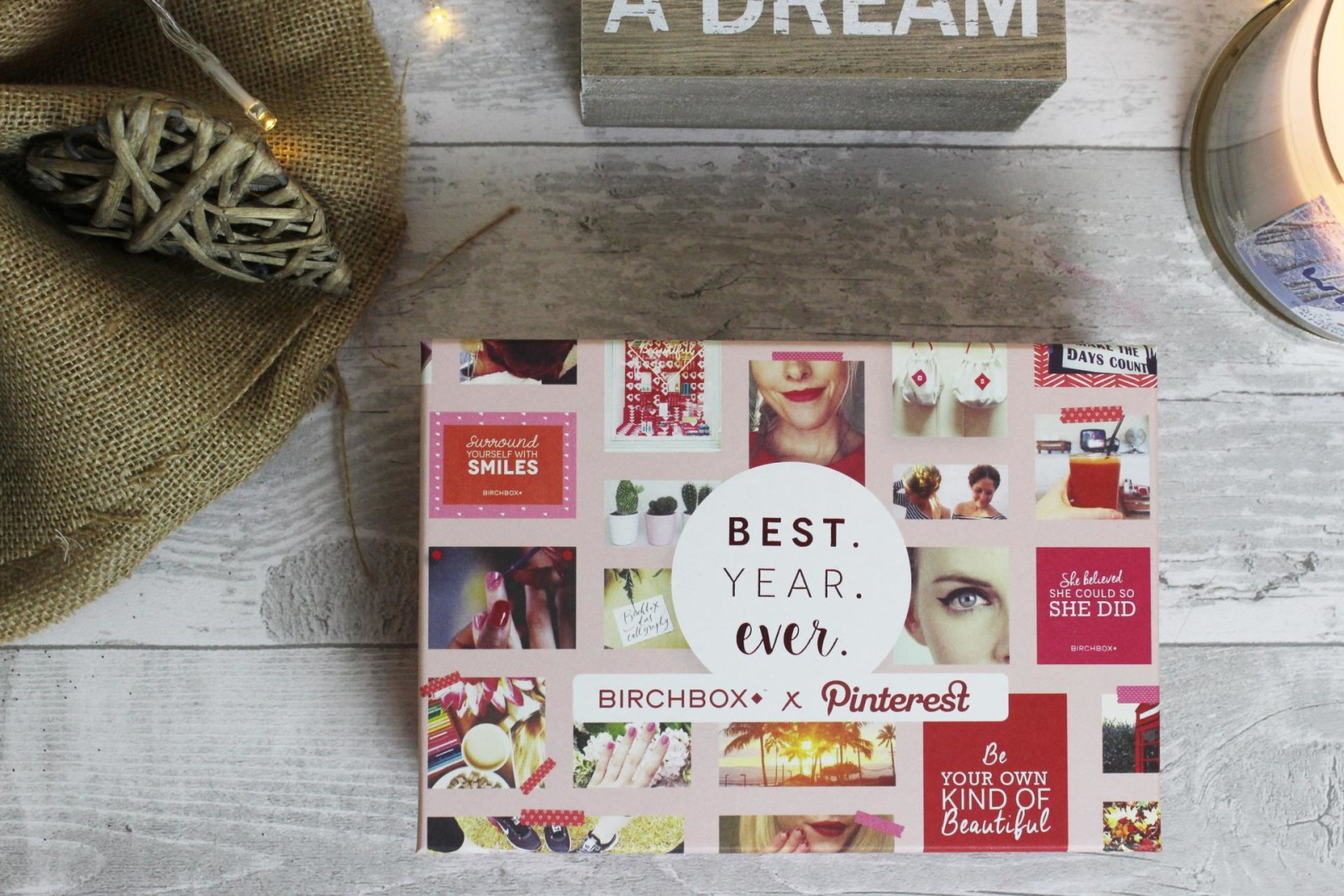 The 2016 January Birchbox x Pinterest
