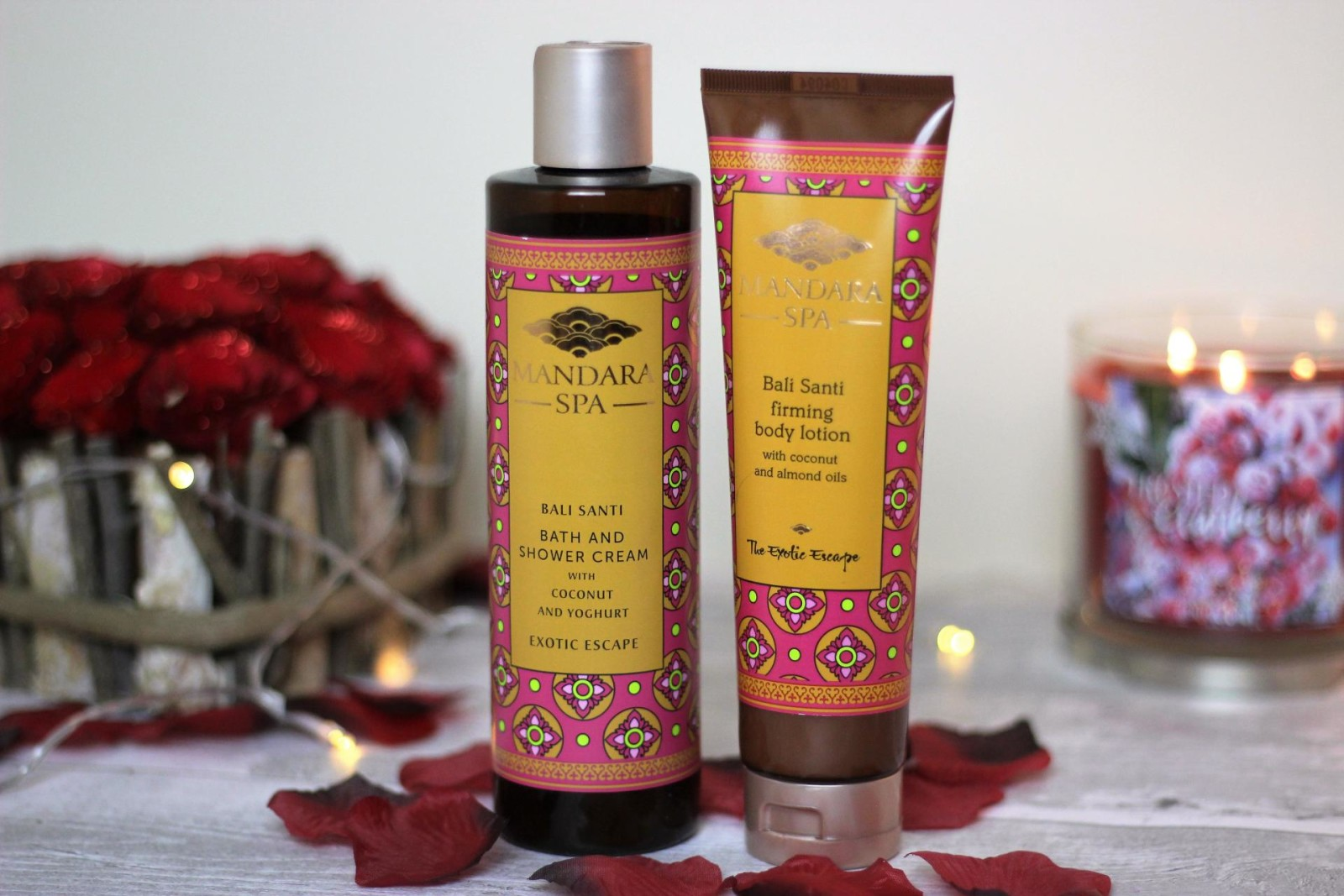 Mandara Spa Bali Santi Bath and Body Range