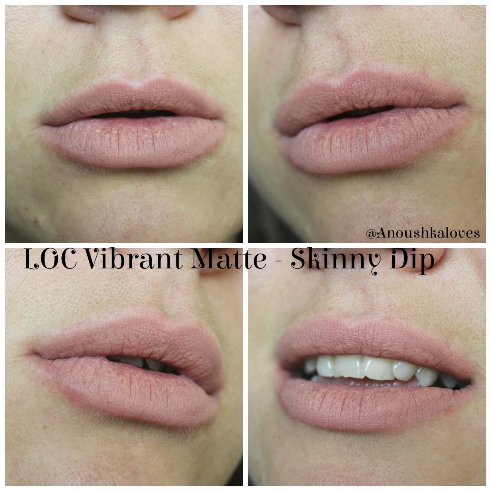 LOC by Birchbox Vibrant Matte Lipsticks Skinny Dip