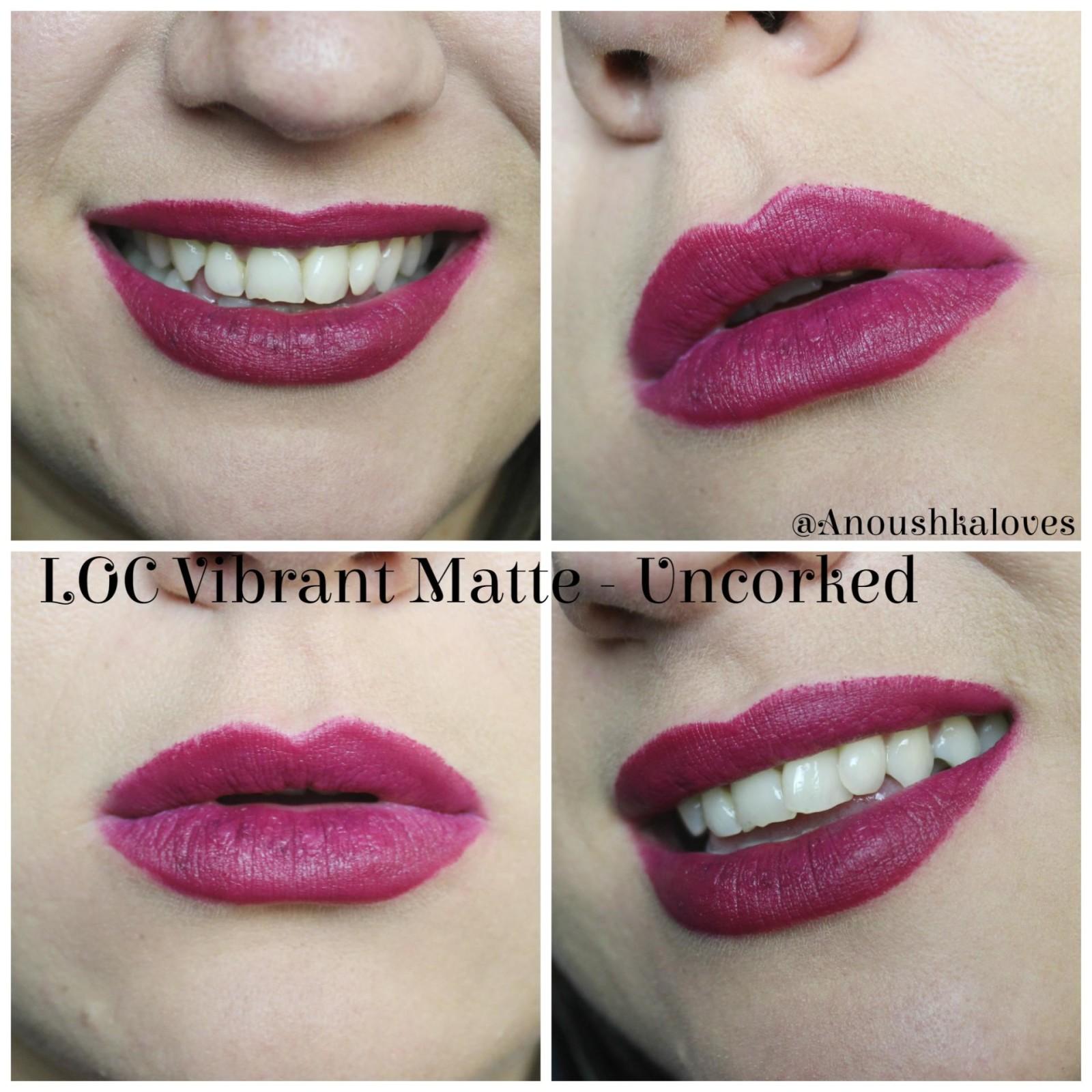 LOC by Birchbox Vibrant Matte Lipsticks Uncorked