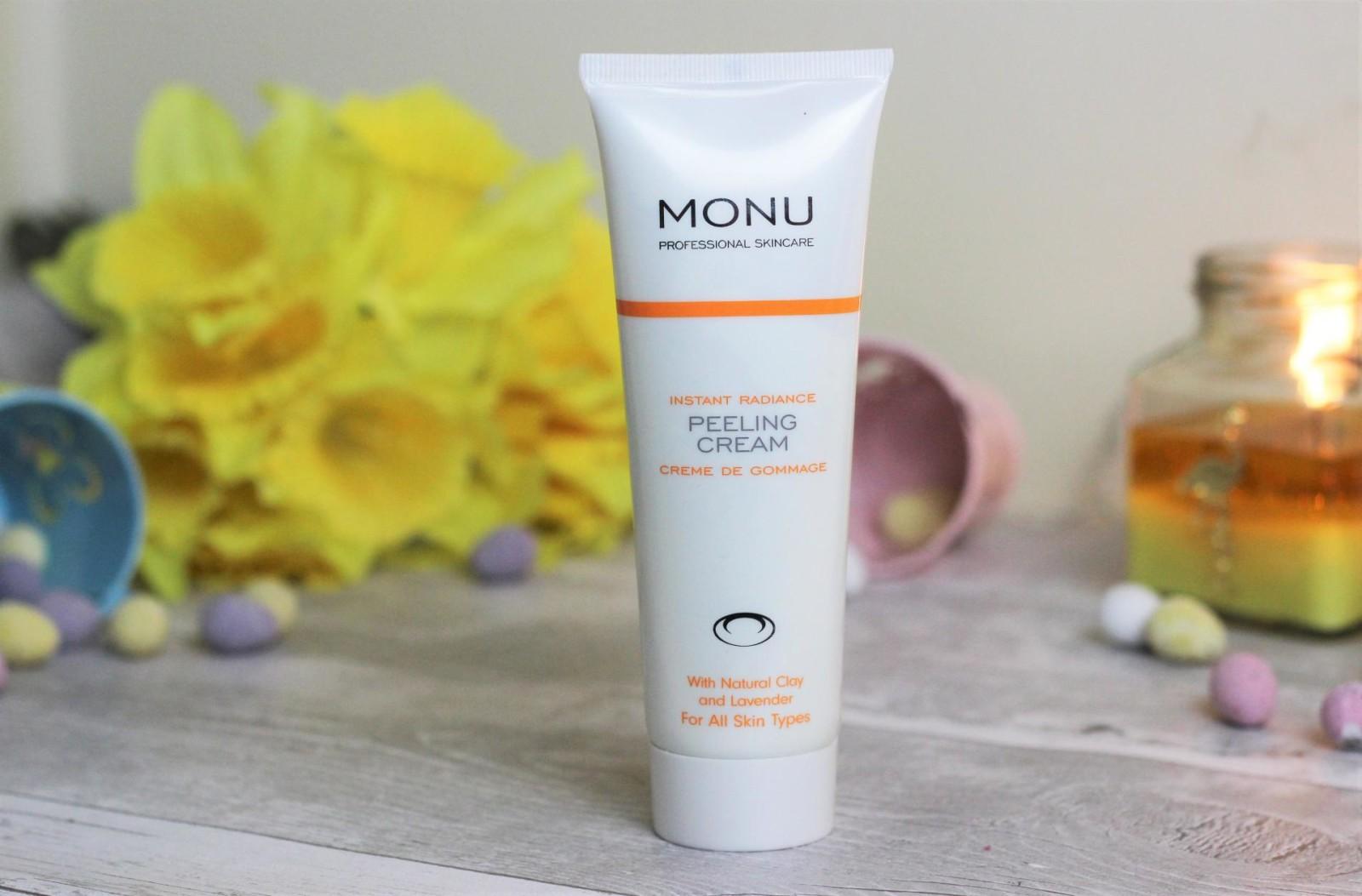 MONU Instant Radiance Peeling Cream