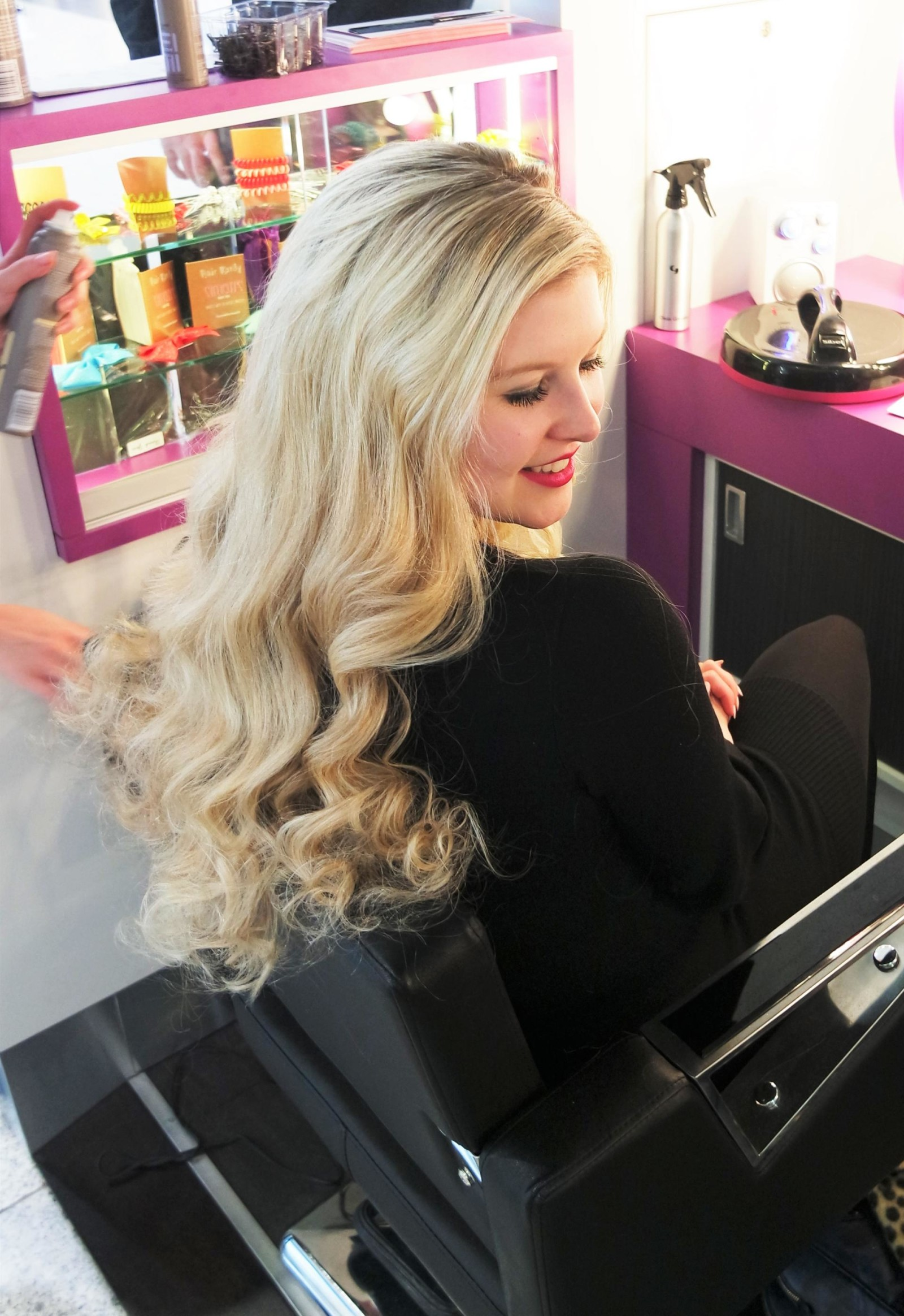 Red Angel Hair at Style Station Manchester