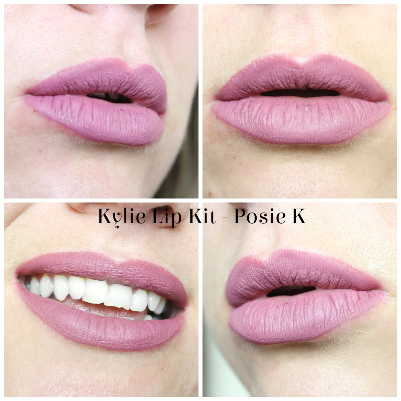 Kylie Lip Kit in Posie K