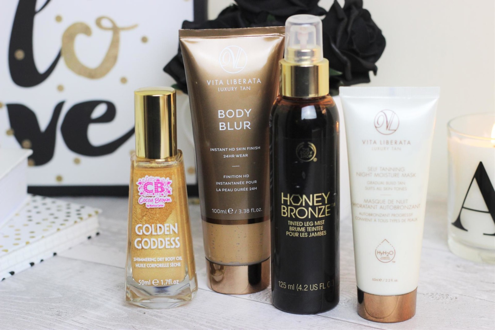 Spring Self Tan Favourites