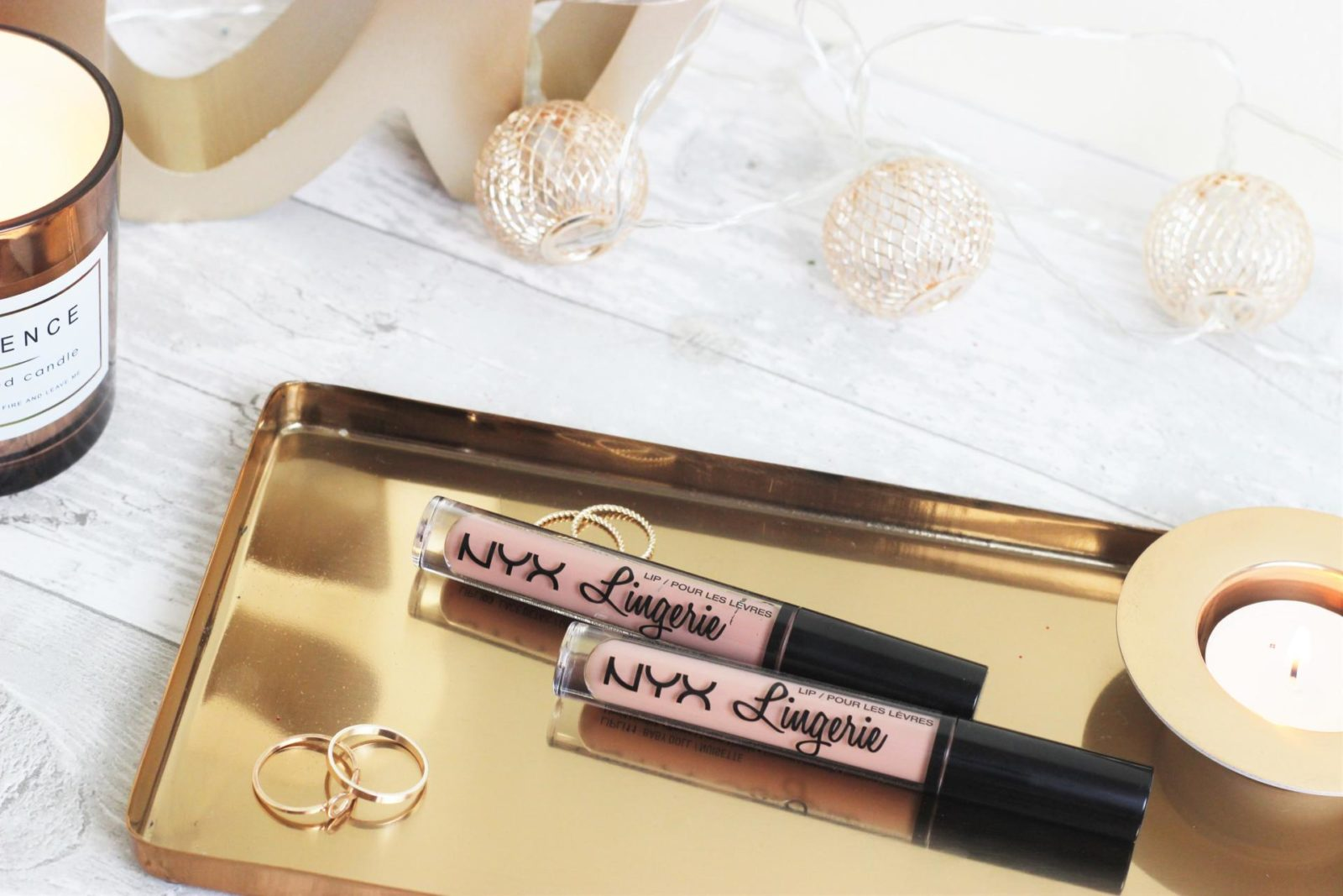 NYX Lip Lingerie Liquid Lipsticks
